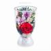 Цены на Цветы в стекле: Композиция из роз и орхидей Данная композиция состоит из натуральных роз и орхидей,   обезвоженных по специальной технологии,   которая даёт возможность цветам сохранять свой свежий вид на несколько лет,   в среднем 6. В течение этого времени вы