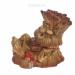 Цены на Фигура декоративная садовая Пенек - лесовичок №2 L21W13H19 см