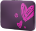 """Цены на HP Valentine Sleeve 15.6"""" HP Valentine Sleeve 15.6""""  Чехол HP Valentine Sleeve с оригинальным рисунком – это не только полезный аксессуар,   но и романтичный подарок. Стильный,   тонкий и удобный,   он обеспечивает дополнительную защиту ноутбука как при нош"""