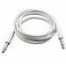 Цены на Аудио кабель aux 3,  5 mm mini jack  -  3,  5 mm mini jack (Белый) Аудио кабель aux 3,  5 mm mini jack  -  3,  5 mm mini предназначен для вывода сигнала на акустику от ноутбука,   плеера.