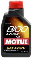 Фото Motul 8100 X-Clean 5W-30 1л