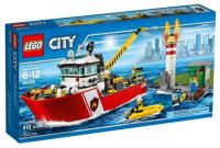 Фото LEGO City Fire 60109 Пожарный катер