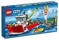 Фото LEGO City Fire 60109 Пожарный катер