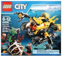 Фото LEGO City 60092 Глубоководная подводная лодка