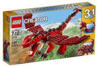Фото LEGO Creator 31032 Огнедышащий дракон