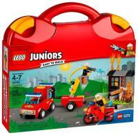Фото LEGO Juniors 10740 Чемоданчик Пожарная команда