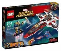 Фото LEGO Super Heroes 76049 Реактивный самолёт Мстителей: Космическая миссия