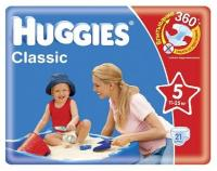 Фото Huggies Classic 5 (21 шт.)