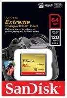 Фото SanDisk 64 GB Extreme CompactFlash SDCFXSB-064G-G46