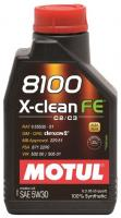 Motul 8100 X-Clean FE 5W-30 1л