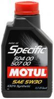Motul Specific VW 504.00-507.00 5W-30 1л