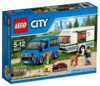 LEGO City Great Vehicles 60117 Фургон и дом на колёсах