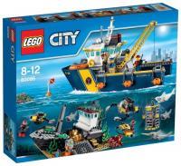 LEGO City 60095 Корабль исследователей морских глубин