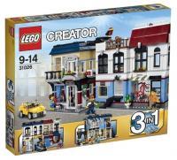 LEGO Creator 31026 Веломагазин и кафе