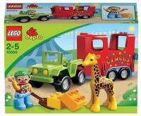 LEGO Duplo 10550 Цирковой автофургон
