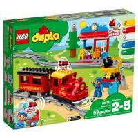 Фото LEGO Duplo 10874 Town Поезд на паровой тяге