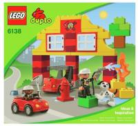 LEGO Duplo 6138 Моя первая пожарная станция