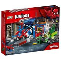 Фото LEGO Уличный бой Человека-Паука против Скорпиона 125 деталей (10754)