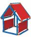 Цены на Keter Конструктор 7в1 Megado сине - красный Конструктор 7в1 Keter Megado позволяет развить логику,   проявить творческие способности и воображение. Большое количество деталей позволяют соорудить машину,   лодку,   театр,   палатку,   дом,   магазин,   футбольные ворота и