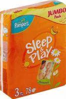 Pampers Sleep&Play Midi 3 (78 шт.)