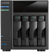 """���� �� AS - 204TE ������� ��������� ASUSTOR ������� ����������,   4 ����� ��� HDD,   ���� - ������ 3.5"""",   ��������� ������� BitTorrent � ed2k,   1200 ���,   2 ����,   512 ��"""