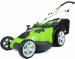 Цены на GreenWorks G40LM49DB 2500207 Газонокосилка аккумуляторная GreenWorks G40LM49DB Dual Blade работает в формате 3 в 1: сбор скошенной травы в травосборник,   мульчирование или выброс назад. Газонокосилка оснащена 2 острыми ножами,   обеспечивающими ширину с
