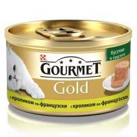 Gourmet Gold с кроликом 0,085 кг