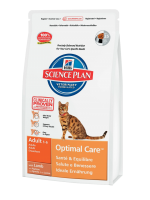 Hill's Science Plan Feline Adult Optimal Care with Lamb 5 кг