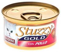 Stuzzy Gold консервы для кошек кусочки курицы в соусе 85 гр