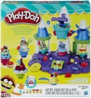 Фото Hasbro Набор пластилина Замок мороженого Play-Doh (B5523)