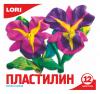 Фото Lori Пластилин Классика, 12 цветов, без европодвеса (Пл-007)